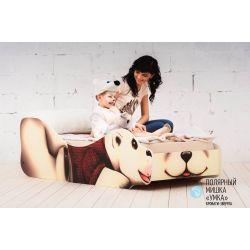 Детская кровать «Полярный мишка Умка»