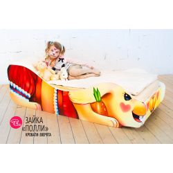 Детская кровать «Зайка Полли»
