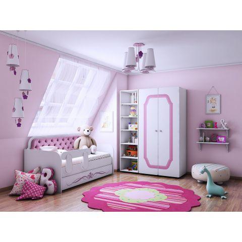 Размер - 300x87x180-330x97x180 см, спальное место - от 160x80 до 190x90 см, нагрузка до 150 кг. Материал - ЛДСП, 16 мм