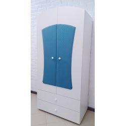 Детский шкаф двустворчатый с ящиками «Даймонд»
