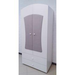 Детский шкаф двустворчатый с ящиками «Вельвет Люкс»