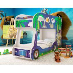 Детская двухъярусная кровать «Мадагаскар»