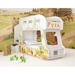 Детская двухъярусная кровать «Русь»