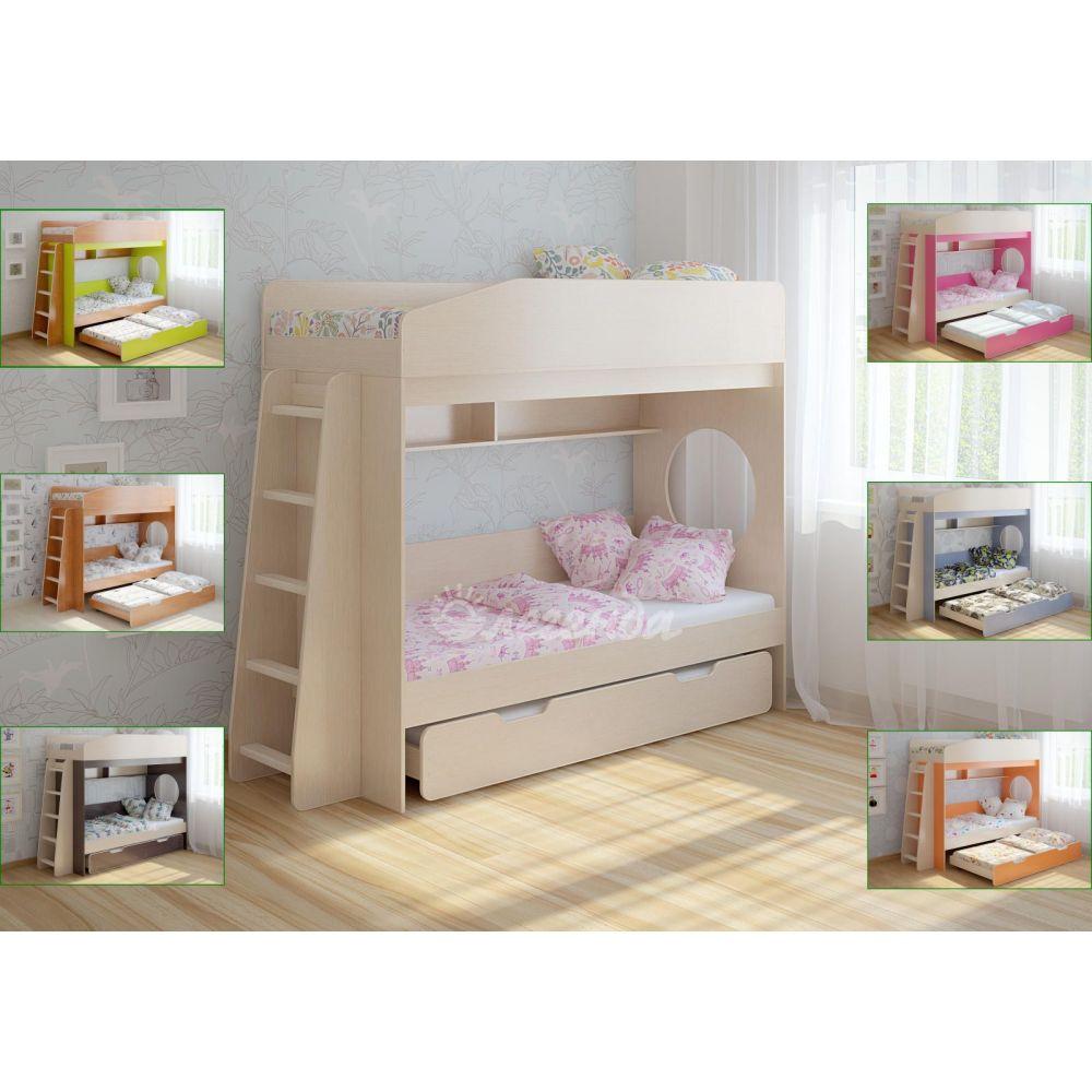 Кровать с выдвижным спальным местом изоражения