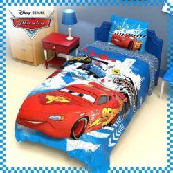 Комплект детского постельного белья «Тачки» (поплин)