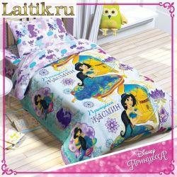 Комплект детского постельного белья «Принцесса Жасмин» (поплин)
