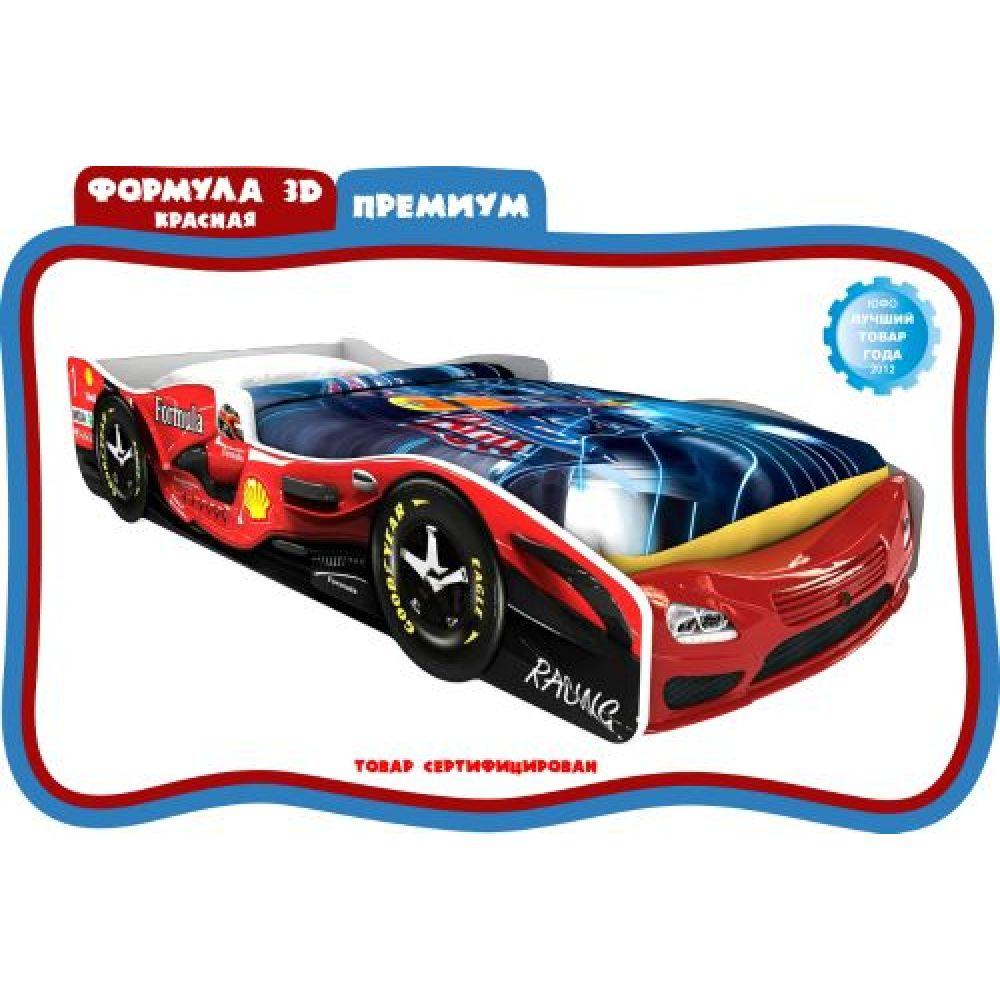 Кровать-машина «Формула 3D»