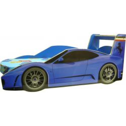 Кровать-машина «Ferrari» синяя