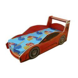 Кровать-машина «Ferrari» красная