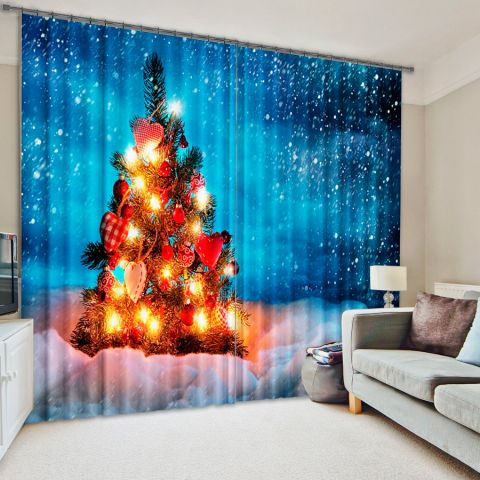 Фотошторы «Новогодняя елка»