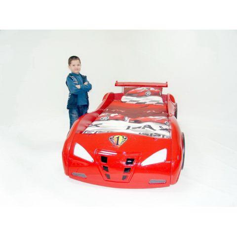 Размер - 230x126x65 см, спальное место - 190x90 см. Материал - ABS-пластик на основе ЛДСП.