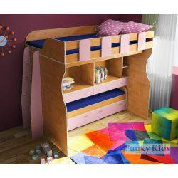 Двухъярусная кровать для детей «Фанки Кидз 19 СВ»