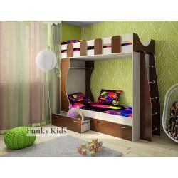 Двухъярусная кровать «Фанки Кидз 5 СВ»