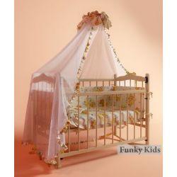 """Детская кроватка """"Фанки Литл"""" с автостенкой. Полный комплект"""