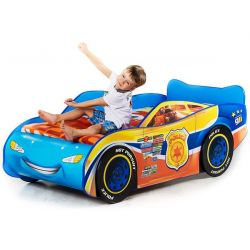Кровать-машина «Тачка-полиция»
