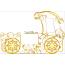 Цвет: Белый с золотом 2