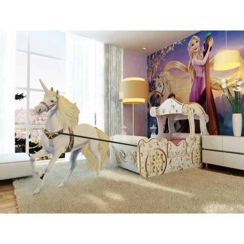Размер кровати - 210x90x130 см, спальное место - 170x80 см, ЛДСП (Эггер, Австрия), светящиеся фонарики в комплекте