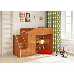 Кровать-чердак «Легенда-11» (с угловой лестницей)