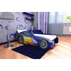 Кровать-машина «Топ Спид» синий