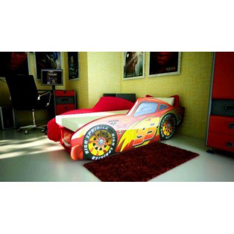 Кровать-машина «Топ Спид» красный