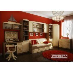 Модульная мебель «Фанки Крем», композиция 4