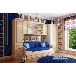 Модульная мебель «Фанки Крем», композиция 3