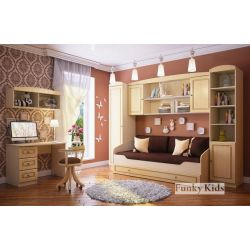 Модульная мебель «Фанки Крем», композиция 2