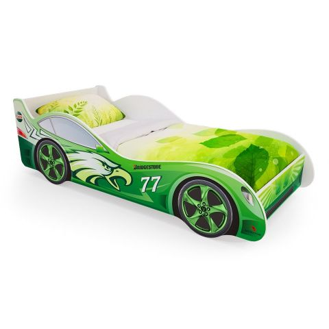 Размер - 172x75x50 см, спальное место - 160x70 см, допустимая нагрузка на спальное место - 100 кг. Материал - ЛДСП (IKEA).