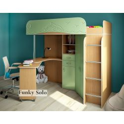 Кровать-чердак «Фанки Соло 3»