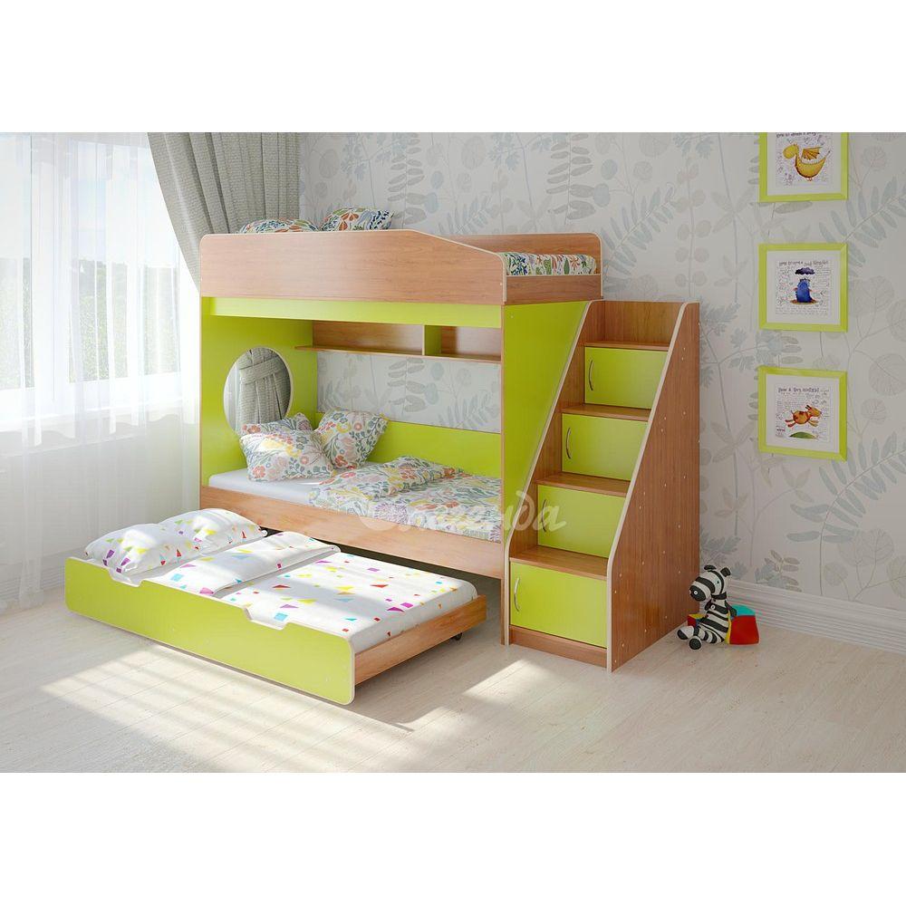 Смотреть Кровать с выдвижным спальным местом видео