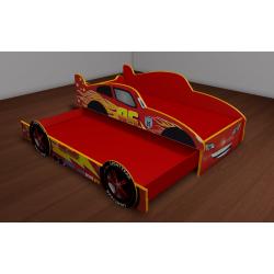 Кровать-машина «Молния» с выдвижным спальным местом