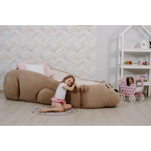 Размер - 227x108x60 см, спальное место - 180x80 см, макс. нагрузка - до 140 кг