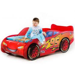 Кровать-машина «Тачка» красная