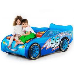 Кровать-машина «Тачка» синяя