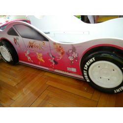 Кровать-машина «Winx 3D»